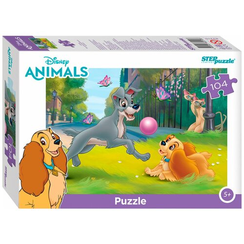 Купить Пазл Step puzzle Disney Animals Зверята (82210), 104 дет., Пазлы