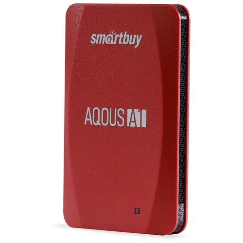 Фото - Внешний SSD Smartbuy Aqous A1 512GB USB 3.1 КРАСНЫЙ внешний ssd smartbuy aqous a1 512gb usb 3 1 серый