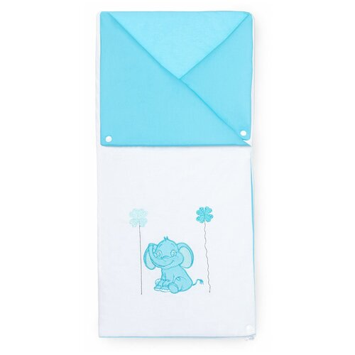 Купить Конверт-трансформер Elephants (Blue), Kidboo, Конверты и спальные мешки