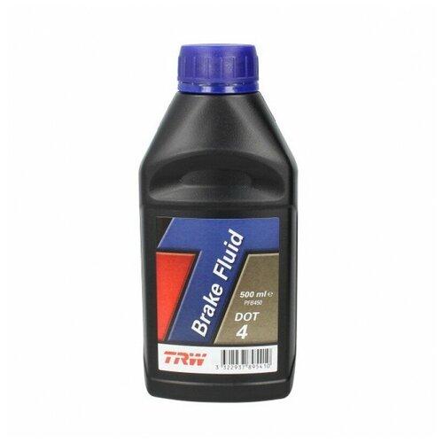 Тормозная жидкость TRW DOT4 PFB450 0.5 л