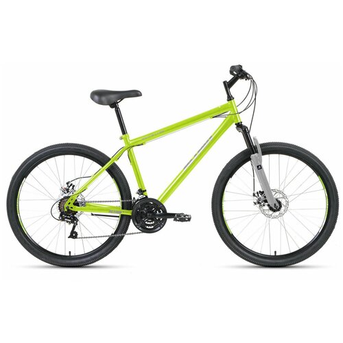 """Горный (MTB) велосипед ALTAIR MTB HT 26 2.0 Disc (2020) зеленый 19"""" (требует финальной сборки)"""