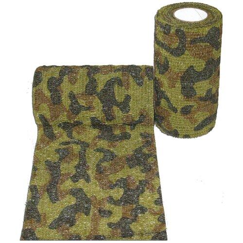 Самофиксирующийся бинт Andover PetFlex 10 х 450 зеленый камуфляж 1 шт. 10 см