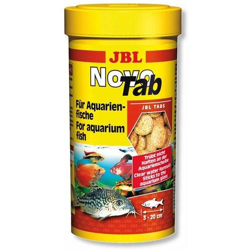Фото - Сухой корм для рыб JBL NovoTab, 150 г сухой корм для рыб jbl novopleco 53 г