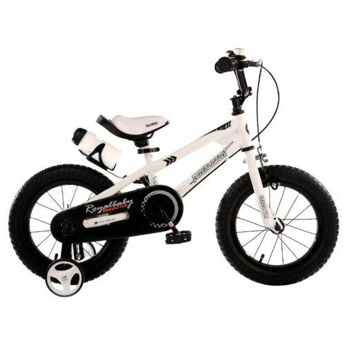 Фото - Детский велосипед Royal Baby RB18B-6 Freestyle 18 Steel белый (требует финальной сборки) детский велосипед tong yue 2 3 6 8 12 14 16 18