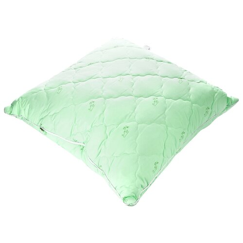 Подушка АльВиТек Бамбук (ПСБ-070) 68 х 68 см зеленый