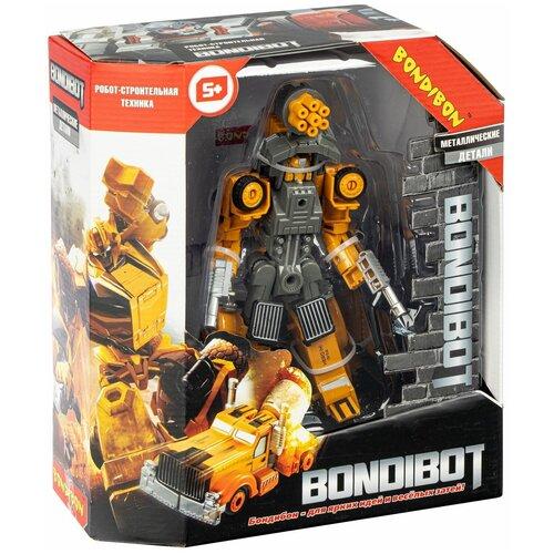 Трансформер 2в1 BONDIBOT робот-строительная техника (бетономешалка)