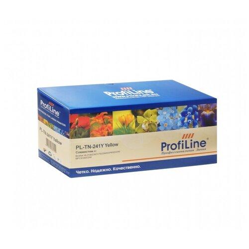 Картридж ProfiLine PL-TN-241Y-Y, совместимый картридж profiline pl tn 241bk bk совместимый
