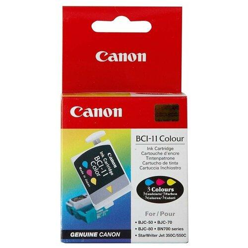 Фото - Набор картриджей Canon BCI-11 Color (0958A002) набор картриджей canon 718bk vp 2662b005