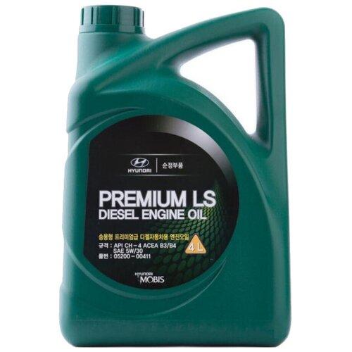 Полусинтетическое моторное масло MOBIS Premium LS Diesel 5W-30, 4 л
