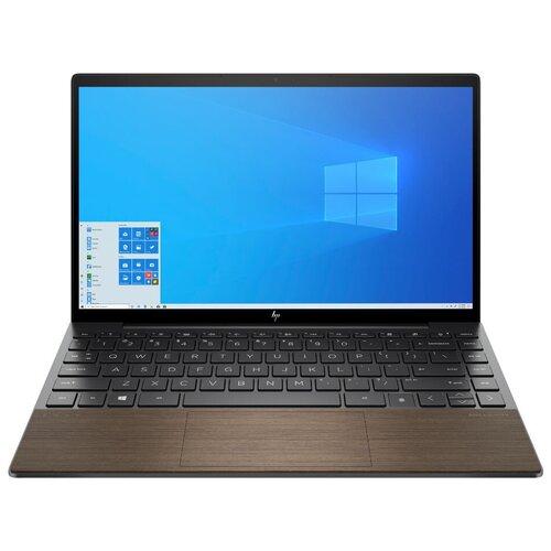 "Ноутбук HP Envy 13-ba1010ur (Intel Core i5 1135G7 2400MHz/13.3""/1920x1080/8GB/512GB SSD/Intel Iris Xe Graphics/Windows 10 Home) 2Z7S2EA темно-серый/ореховый"