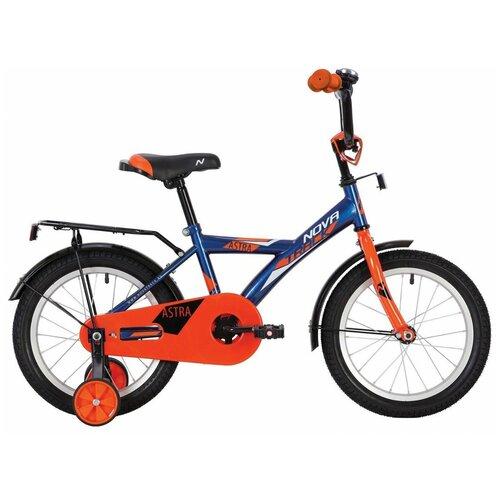 Фото - Детский велосипед Novatrack Astra 16 (2020) синий (требует финальной сборки) детский велосипед novatrack urban 16 2019 синий требует финальной сборки