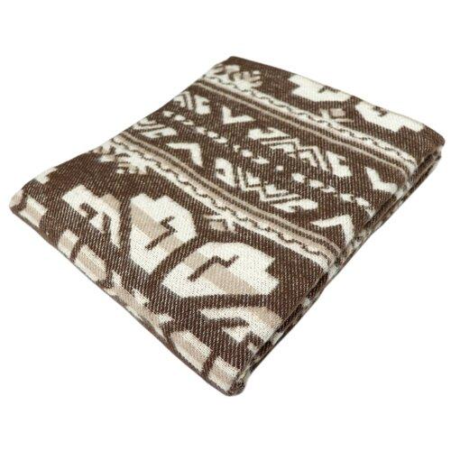 Плед ARLONI Этника 170 х 200 см, коричневый коврик arloni arloni mp002xu0dzlv