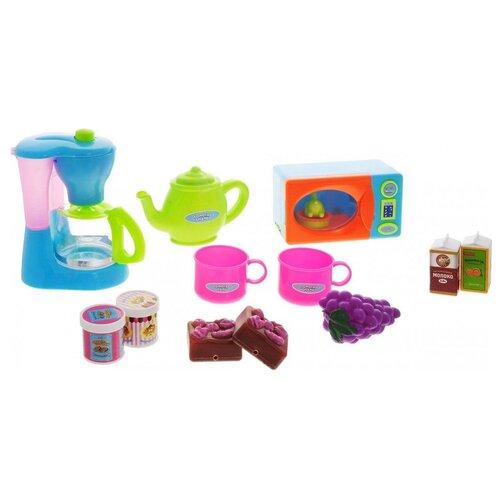Фото - Игровой набор ABtoys Помогаю маме PT-00480 голубой/зеленый/розовый/оранжевый/фиолетовый кухня abtoys помогаю маме pt 00791 розовый белый серый