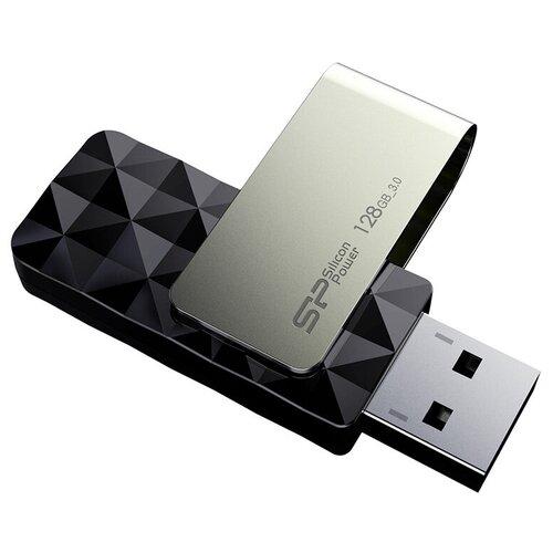Фото - Флешка Silicon Power Blaze B30 128 GB, черный флешка silicon power blaze b30 32 gb черный серебристый