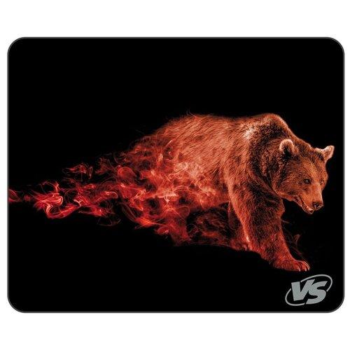 Коврик VS Flames Бурый медведь (A4801) черный/коричневый/красный