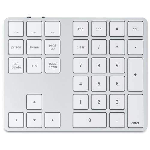 Клавиатура Satechi Bluetooth Extended Keypad Silver