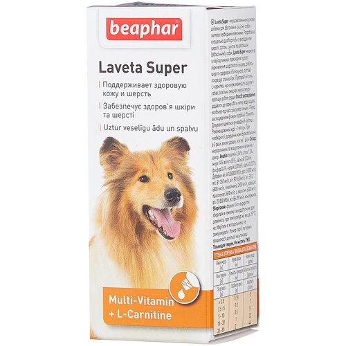 Фото - Добавка в корм Beaphar Laveta Super для собак 50 мл добавка в корм beaphar salvikal