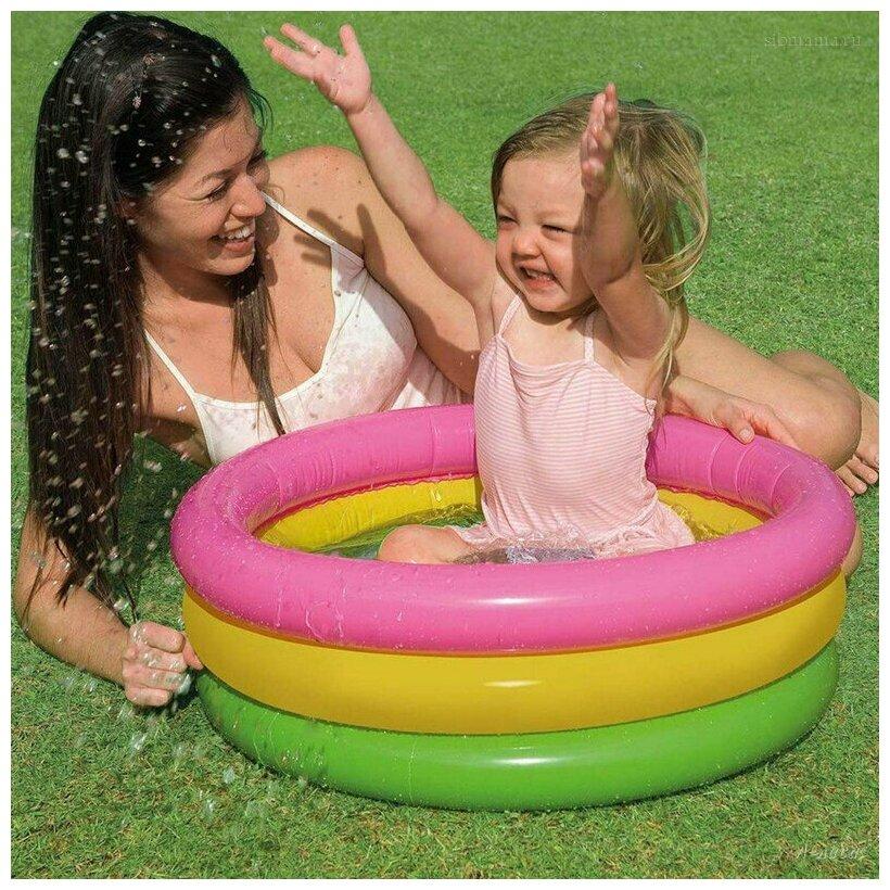 Детский бассейн Intex Sunset Glow Baby 57107