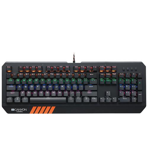 Игровая клавиатура Canyon CND-SKB6-RU Black USB