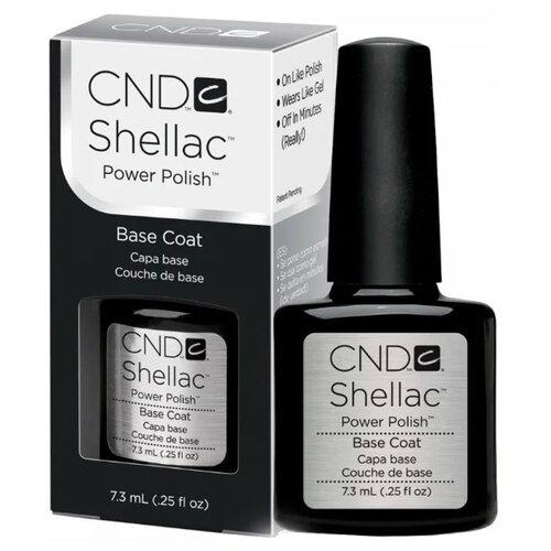 Купить CND базовое покрытие Shellac Base Coat 7.3 мл прозрачный