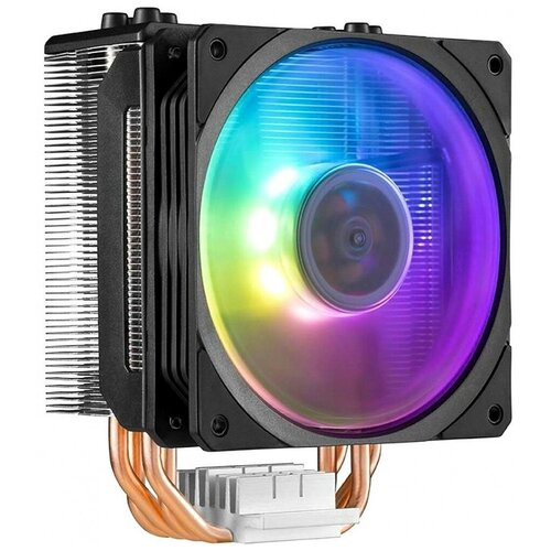 Кулер для процессора Cooler Master Hyper 212 Spectrum серебристый/черный/RGB кулер для процессора cooler master hyper 212 led turbo red top cover