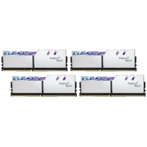 Оперативная память G.SKILL Trident Z Royal 128GB (32GBx4) DDR4 3600MHz DIMM 288-pin CL18 F4-3600C18Q-128GTRS