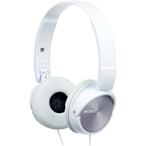 Наушники Sony MDR-ZX310AP, белый наушники sony mdr zx310ap черный