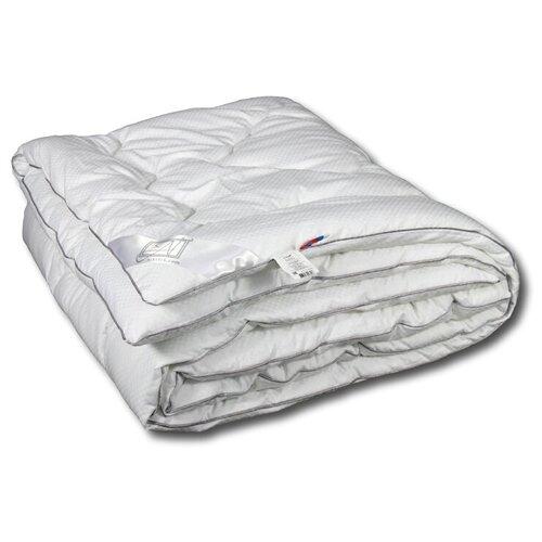 Фото - Одеяло АльВиТек Адажио, теплое, 172 х 205 см (белый) одеяло альвитек холфит комфорт теплое 172 х 205 см белый розовый