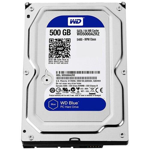 Жесткий диск Western Digital WD5000AZRZ жесткий диск western digital wd102purz