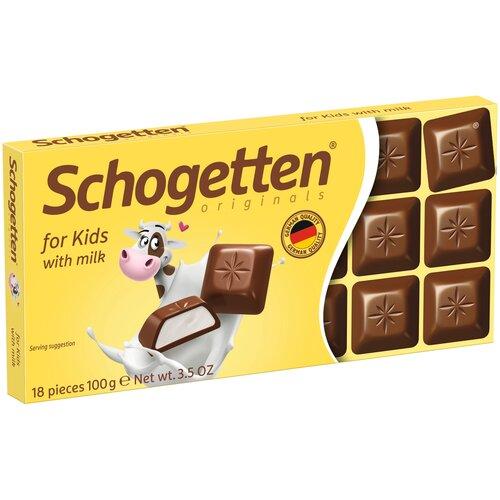 шоколад алёнка молочный порционный с молочной начинкой 100 г Шоколад Schogetten for Kids молочный с молочной начинкой порционный, 100 г