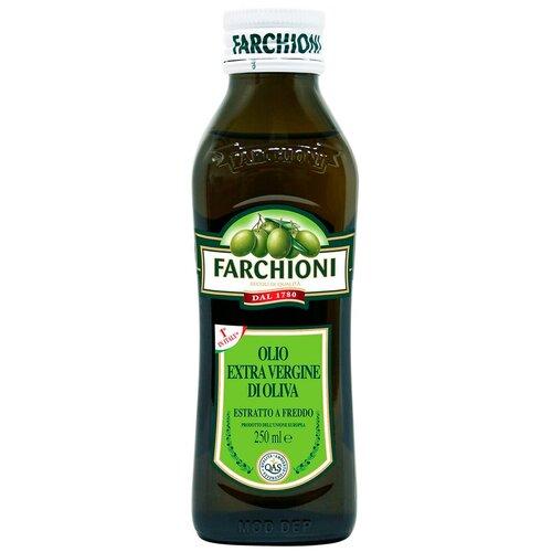 Farchioni масло оливковое Extra Virgin, стеклянная бутылка, 0.25 л масло оливковое farchioni extra virgin di oliva 500 мл