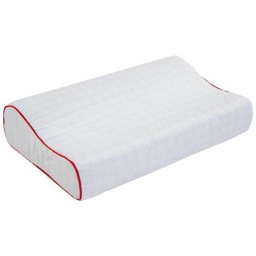 Подушка Даргез ортопедическая Антистресс 30 х 50 см белый