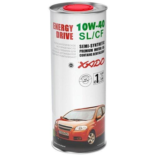 Полусинтетическое моторное масло XADO Atomic Oil 10W-40 SL/CF, 1 л