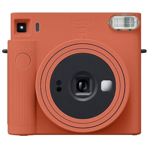 Фотоаппарат моментальной печати Fujifilm Instax Square SQ1, оранжевая терракота фотоаппарат fujifilm instax square sq6 ruby red