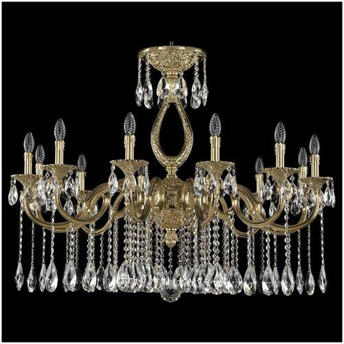 Фото - Люстра Bohemia Ivele Crystal 72301/12/360 A G, E14, 480 Вт люстра bohemia ivele crystal 7201 72301 12 360 b g e14