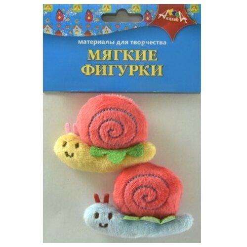 Купить Набор мягких игрушек Апплика Улитки, 5 см, Мягкие игрушки