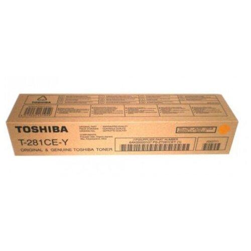 Фото - Картридж Toshiba T-281C-EY (6AK00000107) тонер картридж katun для toshiba t 2840e e studio 203 233 283 eu vers туба 675 гр