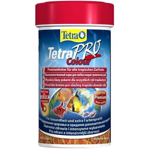 Фото - Сухой корм для рыб Tetra TetraPro Colour 100 мл 20 г сухой корм для рыб dajana pet betta 100 мл 25 г
