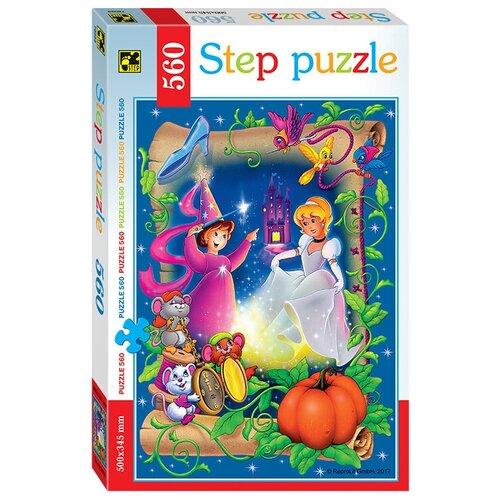 Пазл Step puzzle Золушка (78099), 560 дет. пазл step puzzle черепашки ниндзя 97070 560 дет