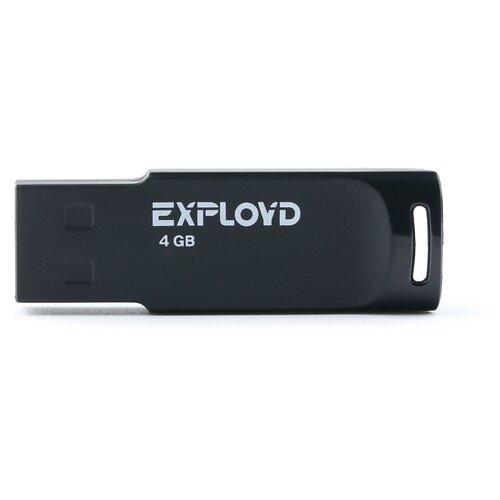 Фото - Флешка EXPLOYD 560 4 GB, black мантоварка росинка рос 307
