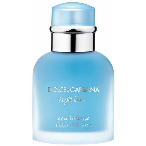 Фото - Парфюмерная вода DOLCE & GABBANA Light Blue pour Homme Eau Intense, 50 мл парфюмерная вода prada l homme intense 50 мл