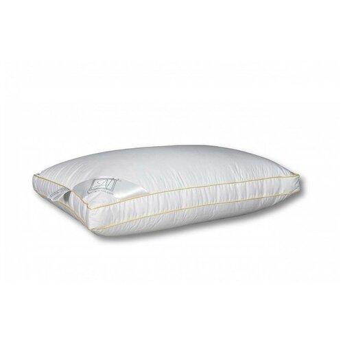 Подушка АльВиТек натуральный гусиный пух, Премиум (ПТ-АП-070) 65 x 65 см белый