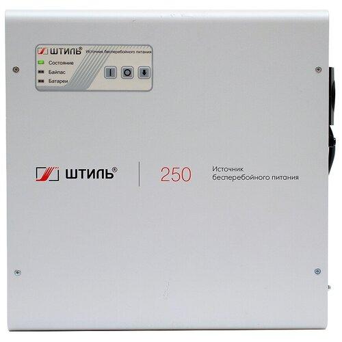 ИБП с двойным преобразованием Штиль SW250SL серый