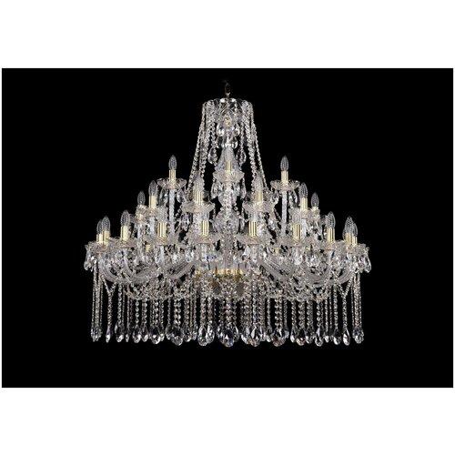 Фото - Люстра Bohemia Ivele Crystal 1413/20+10+5/400/G, E14, 1400 Вт люстра bohemia ivele crystal 1413 18 400 g e14 720 вт