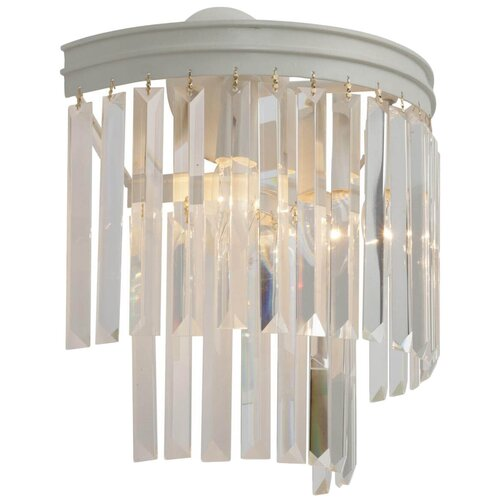 Настенный светильник Vitaluce V5150-0/3A, E14, 180 Вт, кол-во ламп: 3 шт., цвет арматуры: белый настенный светильник vitaluce v1115 3a 180 вт