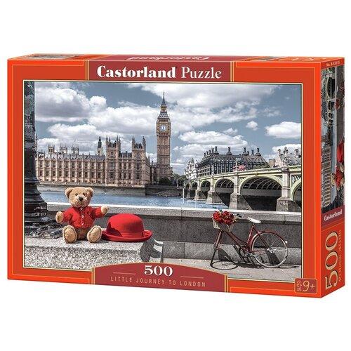 Фото - Пазл Castorland Путешествие в Лондон (B-53315), 500 дет. пазл castorland лето в альпах b 53360 500 дет