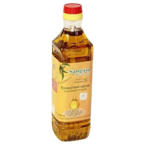 Sangam Herbals масло кунжутное Extra Virgin, 0.5 л чаванпраш джем sangam herbals