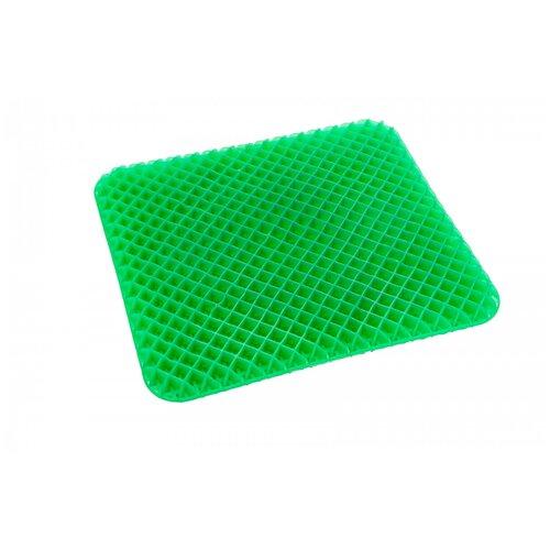 Подушка BRADEX для сидения амортизирующая (KZ 0471) 42.5 х 37.5 см черный/зеленый подушка bradex kz 0559