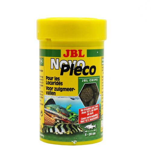 Фото - Сухой корм для рыб JBL NovoPleco, 53 г сухой корм для рыб jbl novopleco 53 г