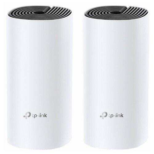 Wi-Fi Mesh система TP-LINK Deco E4 (2-pack), белый wi fi система tp link deco ac1200 2 pack белая